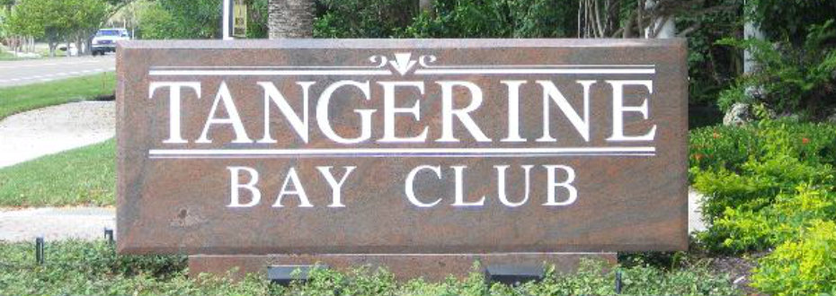 Entrance to Tangerine Bay Club